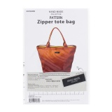 Patron de sac zipper tote bag - 468