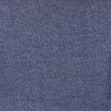 Tissu molleton sweat chiné bleu 180cm - 468