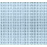 Coupon 40/50 aïda 5.5 100%coton bleu ciel 72 - 47