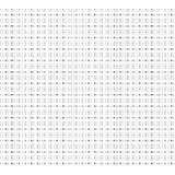 Coupon 80/50 cm. aïda 5.5 100%coton blanc 11 - 47