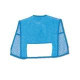 Bavoir tablier avec poche aida éponge turquoise - 47