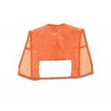 Bavoir tablier avec poche aida éponge orange - 47