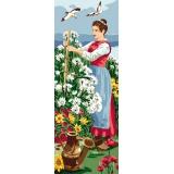 Femme aux fleurs - 47