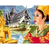 Canevas antique 50/65 thaïlande - 47
