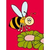 Kit canevas blanc 25/30 100%coton abeille - 47