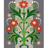 Motif floral - 47