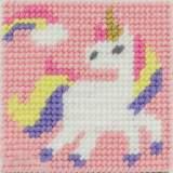 Kit canevas soudan 20x20 la fée licorne - 47