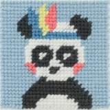 Kit canevas soudan20x20 pandi-panda - 47