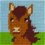 Kit canevas soudan20x20 Jumper un amour de cheval - 47
