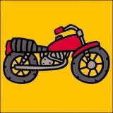 Kit canevas soudan 20/20cm moto - 47
