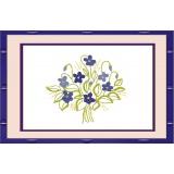 Bouquet violettes - 47