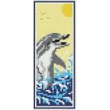Marque page aïda pvc dauphin - 47