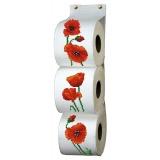 Kit pt cpté - range papier toilette coquelicots - 47