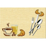 Set de table point compte aïda pvcPetit-dejeuner - 47