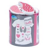 Tampon Aladine textile love & chic - 470