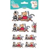 Sticker textile aladine mes amis - 470