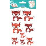 Sticker textile aladine renard - 470