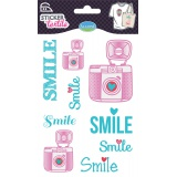 Sticker textile Aladine smile - 470