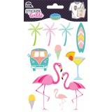 Sticker textile aladine florida - 470