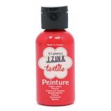 Izink peinture textile aladine rouge 50ml - 470