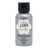 Izink peinture textile aladine argent 50ml - 470