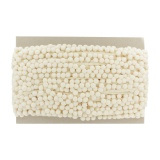 Galon pompon 18mm beige - 471