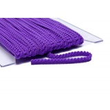 Galon pompon 9mm violet - 471