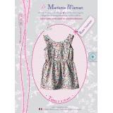 Patron Madame Maman robe charlotte de 2 à 16 ans - 472