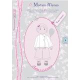Patron Madame Maman veste Clarisse de 2 à 6 ans - 472