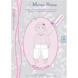 Patron Madame Maman pantalon Emma 3-4-5 ans - 472
