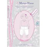 Patron Madame Maman pantalon Emma 6-7-8 ans - 472