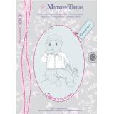 Patron Madame Maman chemise Eton 6-9-12-18 mois - 472