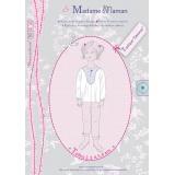 Patron Madame Maman tunique Garance 2-3-4-5-6 ans - 472