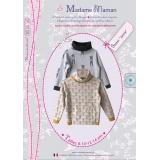 Patron Madame Maman sweat jamie 8-14 ans - 472