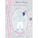 Patron Madame Maman pantalon jean 2-3-4-5 ans - 472