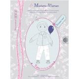 Patron Madame Maman pantalon jean 3 à 18 mois - 472