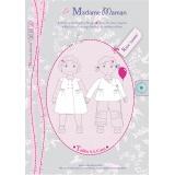 Patron Madame Maman robe Juliette 4-5-6 ans - 472