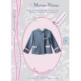 Patron Madame Maman manteau louise 2-3-4-5-6 ans - 472