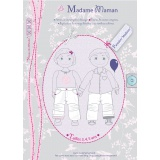 Patron Madame Maman pantalon Madison 3-4-5 ans - 472