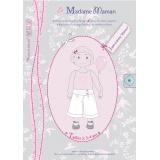 Patron Madame Maman jupe-culotte Manon 2-3-4 ans - 472