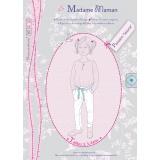 Patron Madame Maman pantalon Salomé 2-3-4 ans - 472
