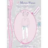 Patron Madame Maman pantalon Salomé 5-6-7 ans - 472