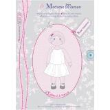 Patron Madame Maman robe Valentine 2-3-4 ans - 472