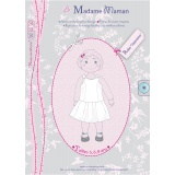 Patron Madame Maman robe Valentine 5-6-8 ans - 472