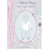 Patron Madame Maman top William 2-3-4 ans - 472