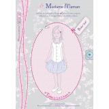 Patron Madame Maman robe Zoé 2-3-4-5-6 ans - 472