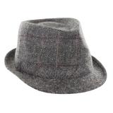 Trilby mixte tweed gris foncé t.58 - 473