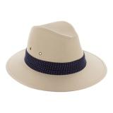 Chapeau homme coton t59 naturel - 473