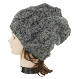 Bonnet torsade noir - 473