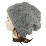 Bonnet torsade gris - 473